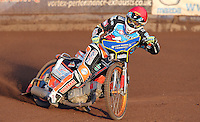 Lakeside guest Rory Schlein - Lakeside Hammers vs Wolverhampton Wolves, Elite League Speedway at the Arena Essex Raceway, Pufleet - 04/07/14 - MANDATORY CREDIT: Rob Newell/TGSPHOTO - Self billing applies where appropriate - 0845 094 6026 - contact@tgsphoto.co.uk - NO UNPAID USE
