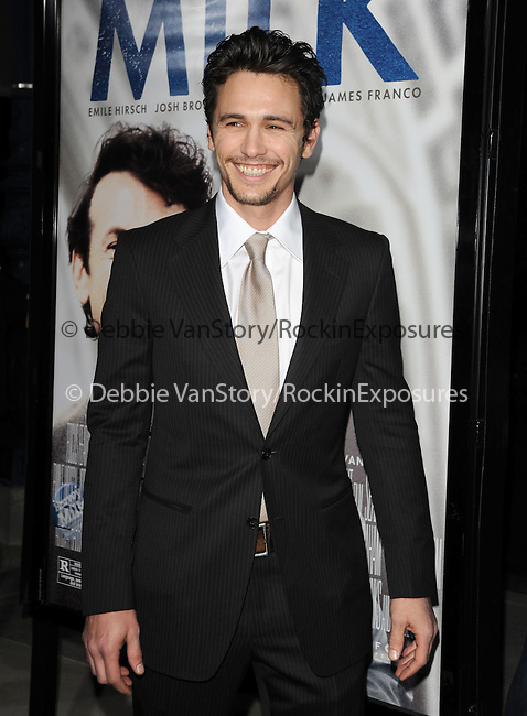 James Franco at The Focus Features L.A. Premiere of MILK held at The Academy in Beverly Hills, California on November 13,2008                                                                     Copyright 2008 Debbie VanStory/RockinExposures