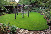 Lawn and children's play gym