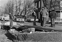 ARCHIVE -<br /> Innondation, mars 1977<br /> <br /> Photo : Agence Quebec Presse  - Alain Renaud