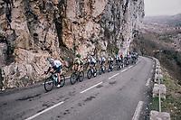Team SKY leading the way<br /> <br /> 76th Paris-Nice 2018<br /> stage 6: Sisteron > Vence (198km)