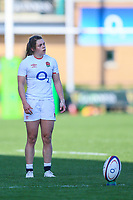 Helena Rowland of England during the Guinness Six Nations match between England Women and Scotland Women at Castle Park Stadium, Doncaster, England on 3 April 2021. Photo by Thomas Gadd / PRiME Media Images.