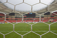 Hongkou Stadium stands ready before the opening game of the FIFA Women's World Cup in Shanghai, China, on September 10, 2007.