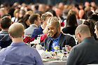 January 23, 2017; Faculty, staff and students gather in the North Dome of the Joyce Center for the Martin Luther King Jr. celebration luncheon, part of the 2017 Walk the Walk Week. (Photo by Matt Cashore/University of Notre Dame)