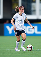 Heather O'Reilly.  The USWNT defeated Brazil, 4-1, at an international friendly at the Florida Citrus Bowl in Orlando, FL.
