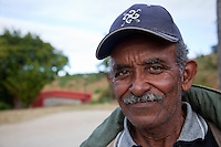 Cuba, Trinidad.  Rico Velto, Laundryman at Hotel las Cuevas.