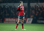 Outside centre Andrew Smith of Munster Rugby.<br /> <br /> Guinness Pro 12<br /> Newport Gwent Dragons v Munster Rugby<br /> Rodney Parade<br /> 21.11.14<br /> ©Steve Pope-SPORTINGWALES