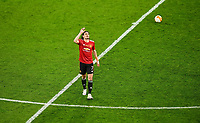 26th May 2021; STADION GDANSK GDANSK, POLAND; UEFA EUROPA LEAGUE FINAL, Villarreal CF versus Manchester United:  Manchester United's Edinson Cavani celebrates as he scores a goal for 1-1
