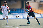 Yau Yee League Select (in white) vs Kashima Antlers (in red and black), during their Main Tournament Plate Quarter-Final match, part of the HKFC Citi Soccer Sevens 2017 on 28 May 2017 at the Hong Kong Football Club, Hong Kong, China. Photo by Marcio Rodrigo Machado / Power Sport Images