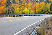 Kancamagus Pasd along the Kancamagus Highway (route 112) in the White Mountains, New Hampshire USA during the autumn months