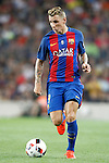 FC Barcelona's Lucas Digne during Supercup of Spain 2nd match.August 17,2016. (ALTERPHOTOS/Acero)