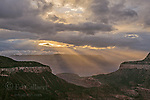 Clearing Storm, Fire Point, Grand Canyon National Park, Arizona