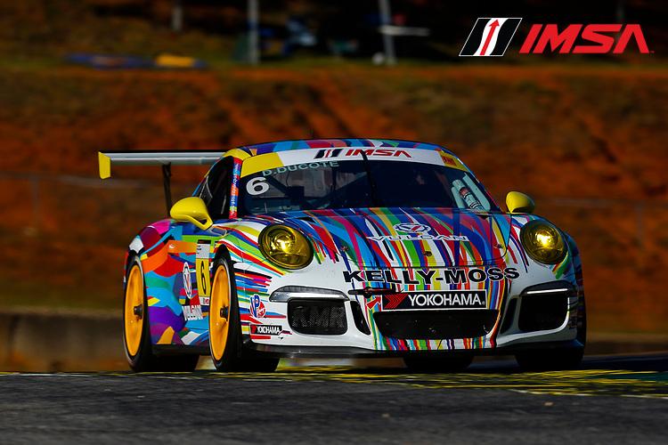 IMSA Porsche GT3 Cup Challenge USA<br /> Road Atlanta<br /> Road Atlanta, Braselton GA<br /> Wednesday 4 October 2017<br /> 6, David Ducote, GT3G, USA, 2016 Porsche 991<br /> World Copyright: Jake Galstad<br /> LAT Images