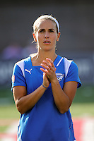 Heather Mitts (2) of the Boston Breakers . Sky Blue FC defeated the Boston Breakers 2-1 during a WPS regular season match at Harvard Stadium in Boston, MA, on July 12, 2009.