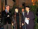 France 2004  Reception à l'Hotel de Ville de Leyla Zana faite citoyenne d'honneur de la ville de Paris par Bertrand Delanoê, maire de Paris,en présence de Danielle Mitterrand <br />