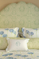 classic floral bedspread