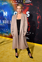 """LOS ANGELES - FEBRUARY 26: Nicky Whelan attends National Geographic's 2020 Los Angeles premiere of """"Cosmos: Possible Worlds"""" at Royce Hall on February 26, 2020 in Los Angeles, California. Cosmos: Possible Worlds premieres Monday, March 9 at 8/7c on National Geographic. (Photo by Frank Micelotta/National Geographic/PictureGroup)"""