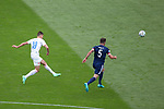 14.06.2021 Scotland v Czech Republic:  Patrik Schick scores from long range