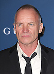 LOS ANGELES, CA - NOVEMBER 02: Sting arrives at  LACMA 2013 Art + Film Gala held at LACMA  in Los Angeles, California on November 02,2012                                                                               © 2013 Hollywood Press Agency