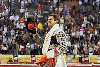 MANIZALES - COLOMBIA - 08-01-2017: El Juli, Spanish bullfighter leaves on shoulders after his presentation during the bullfighting season 61 Feria of Manizales. Photo: VizzorImage / Santiago Osorio / Cont.