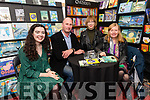 Mia Colleran with authors Luke Eastwood, Barbara Byar and Breda Joy during the local author showcase as part of the Dingle Literary Festival over the weekend.