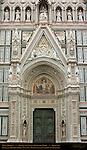 Main Portal 19th c Facade Santa Maria del Fiore Florence