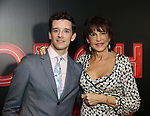 "Michael Urie and Mercedes Ruehl  attends the Broadway Opening Night After Party for ""Torch Song"" at Sony Hall on November 1, 2018 in New York City."