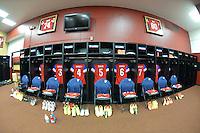 San Francisco, CA., - Tuesday, May 27, 2014: USA vs Azerbaijan pre game at Candlestick Park.