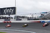 #20: Erik Jones, Joe Gibbs Racing, Toyota Camry Craftsman ACE/CMN #2: Brad Keselowski, Team Penske, Ford Mustang Western Star/Alliance Parts