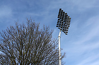 General view of a floodlight pylon ahead of Essex CCC vs Worcestershire CCC, LV Insurance County Championship Group 1 Cricket at The Cloudfm County Ground on 9th April 2021