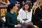 Teresa Perales and Maialen Chourraut attends to National Sport Awards 2016 at El Pardo Palace in Madrid , Spain. February 19, 2018. (ALTERPHOTOS/Borja B.Hojas)
