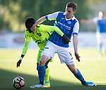 FK Trakai v St Johnstone…06.07.17… Europa League 1st Qualifying Round 2nd Leg, Vilnius, Lithuania.<br />Oscar Dorley and Blair Alston<br />Picture by Graeme Hart.<br />Copyright Perthshire Picture Agency<br />Tel: 01738 623350  Mobile: 07990 594431