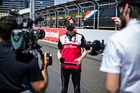 3rd June 2021; Baku, Azerbaijan;  ILOTT Callum (gbr), Alfa Romeo Racing ORLEN,  during the Formula 1 Azerbaijan Grand Prix 2021 at the Baku City Circuit, in Baku, Azerbaijan