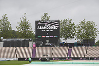 Play abandoned for the day during India vs New Zealand, ICC World Test Championship Final Cricket at The Hampshire Bowl on 18th June 2021