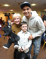 Pictured: Kyle Naughton Tuesday 06 December 2016<br /> Re: Swansea City FC Christmas Party at the Liberty Stadium, Wales, UK