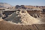 16/05/15. Awbar Village, Darbandikhan area, Iraq. -- A pile of fodder in the farm of Najm.