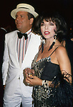 MASSIMO GARGIA E JONA COLLINS<br /> FESTA VICTOR DANENZA - VILLA ARAUCARIA- CANNES 1988