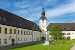 Oesterreich, Salzburger Land, Flachgau, Dorfbeuern: Benediktinerabtei Michaelbeuern | Austria, Salzburger Land, region Flachgau, Benedictine Abbey Michaelbeuern at village Dorfbeuern