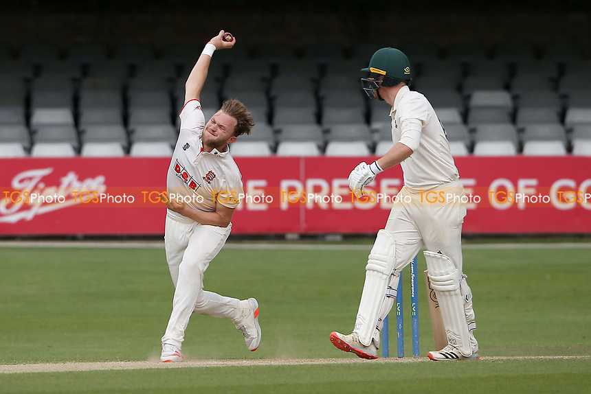 Sam Cook in bowling action for Essex during Essex CCC vs Nottinghamshire CCC, LV Insurance County Championship Group 1 Cricket at The Cloudfm County Ground on 6th June 2021
