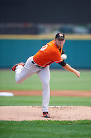 Norfolk Tides starting pitcher Joe Gunkel (30) during a game against the Rochester Red Wings on July 17, 2016 at Frontier Field in Rochester, New York.  Rochester defeated Norfolk 3-2.  (Mike Janes/Four Seam Images)
