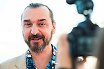 """The director of the film Jean-Patrick Benes pose to the media during the presentation of the film """"Ares"""" at Festival de Cine Fantastico de Sitges in Barcelona. October 11, Spain. 2016. (ALTERPHOTOS/BorjaB.Hojas)"""