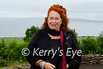 Singer Mary Coughlan on her visit to do a concert for the residents of Aspree Nursing Home in Camp on Monday.