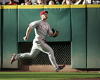 Philadelphia Phillies OF Geoff Jenkins on Saturday May 24th at Minute Maid Park in Houston, Texas. Photo by Andrew Woolley / Four Seam Images...