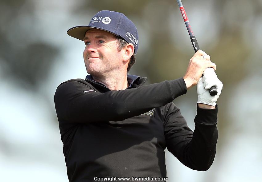 Josh Geary during the Jennian Homes Charles Tour Pegasus Open, Pegasus Golf Club, Christchurch, 4 October 2020. Photo: Martin Hunter/www.bwmedia.co.nz