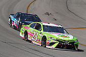 Monster Energy NASCAR Cup Series<br /> Toyota Owners 400<br /> Richmond International Raceway, Richmond, VA USA<br /> Sunday 30 April 2017<br /> Gray Gaulding, BK Racing, sweetfrog Toyota Camry and Timmy Hill, Rick Ware Racing, Chevrolet SS<br /> World Copyright: Russell LaBounty<br /> LAT Images<br /> ref: Digital Image 17RIC1Jrl_6035