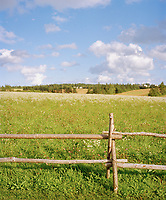 Green spaces and bright blue skies; over 88% of Prince Edward Island is privately owned.