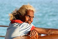 Dawn Koondumbin, the Indigenous Custodian of the Archer River in the Gulf Of Carpentaria
