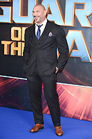 "Dave Bautista<br /> at the ""Guardians of the Galaxy 2"" premiere held at the Hammersmith Apollo, London. <br /> <br /> <br /> ©Ash Knotek  D3257  24/04/2017"