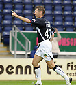 27/09/2008  Copyright Pic: James Stewart.File Name : sct_jspa17_falkirk_v_hamilton.BURTON O'BRIEN CELEBRATES AFTER HE SCORES FALKIRK'S THIRD.James Stewart Photo Agency 19 Carronlea Drive, Falkirk. FK2 8DN      Vat Reg No. 607 6932 25.Studio      : +44 (0)1324 611191 .Mobile      : +44 (0)7721 416997.E-mail  :  jim@jspa.co.uk.If you require further information then contact Jim Stewart on any of the numbers above........
