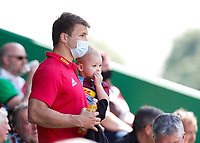 29th May 2021; Twickenham Stoop, London, England; English Premiership Rugby, Harlequins versus Bath;  Still serving his ban, Andre Esterhuizen in the stands